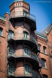 Alter Elbtunnel & Speicherstadt in Hamburg